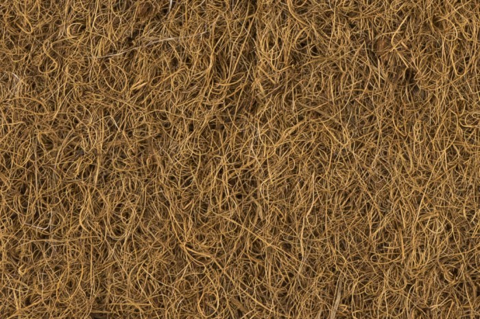 Coir felt and mulch disc fibrenat - Feutre de paillage ...